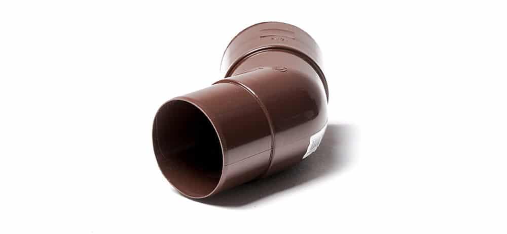 Колено водосточной трубы 135° POLIVENT
