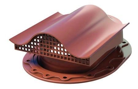 POLIVENT КТВ-вентиль для кровли фальцевой и готовой из битумной черепицы