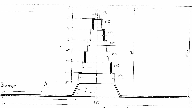 уплотнитель антенн и труб, уплотнитель 10-70, уплотнитель трубы, уплотнитель антенны, схема уплотнителя