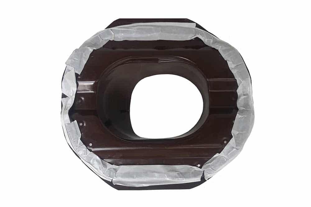Проходной элемент для металлопрофиля, проходной элемент