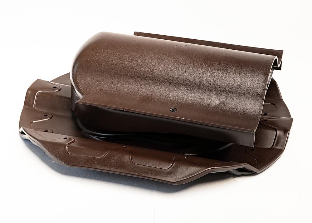 КТВ-вентиль PROF-20 для металлопрофиля коричневый