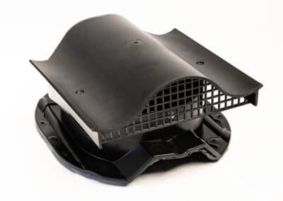 КТВ-вентиль Prof-35 для металлопрофиля черный