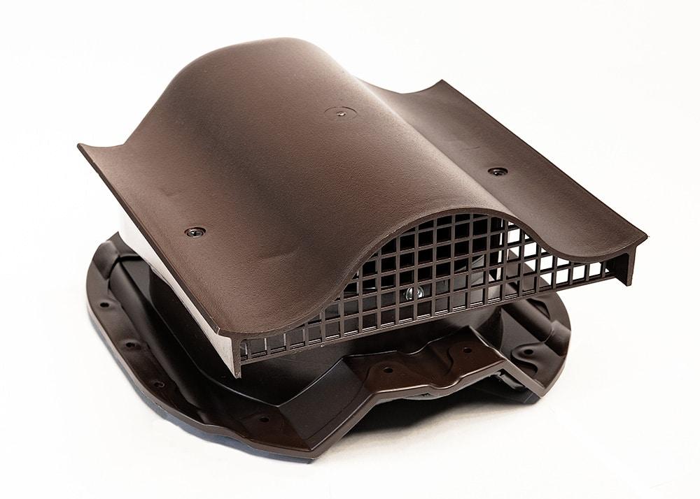 КТВ-вентиль PROF-35 для металлопрофиля коричневый