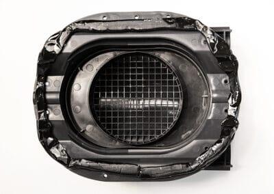 квт-вентиль PROF-35 для металлопрофиля коричневый