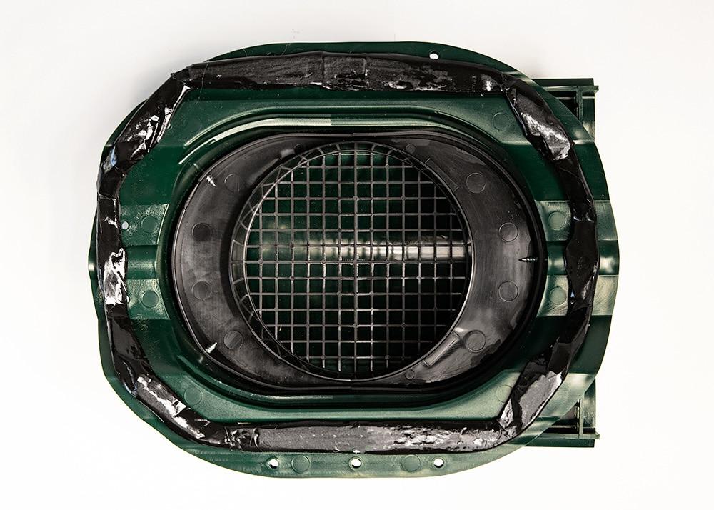 квт-вентиль зеленый для металлопрофиля PROF-35