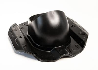 Проходной элемент для металлопрофиля PROF-20 черный