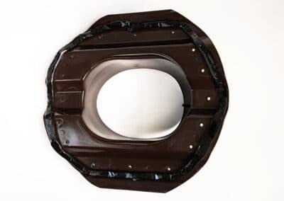 Проходной элемент для металлопрофиля PROF-20 коричневый