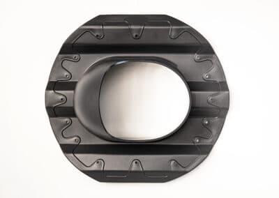 Проходной элемент для металлопрофиля PROF-20 серый