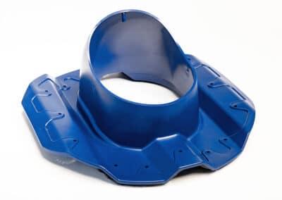 Проходной элемент для металлопрофиля PROF-20 синий