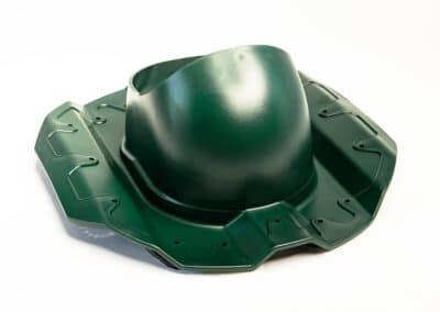 Проходной элемент для металлопрофиля PROF-20 зеленый