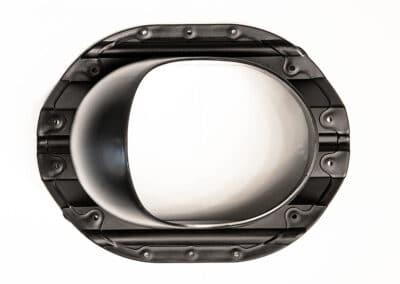 Проходной элемент для металлопрофиля PROF-35 черный