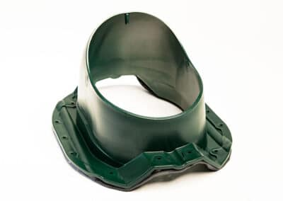 Проходной элемент для металлопрофиля PROF-35 зеленый