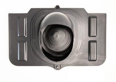 Проходной элемент для металлочерепицы серый UNIVERSAL