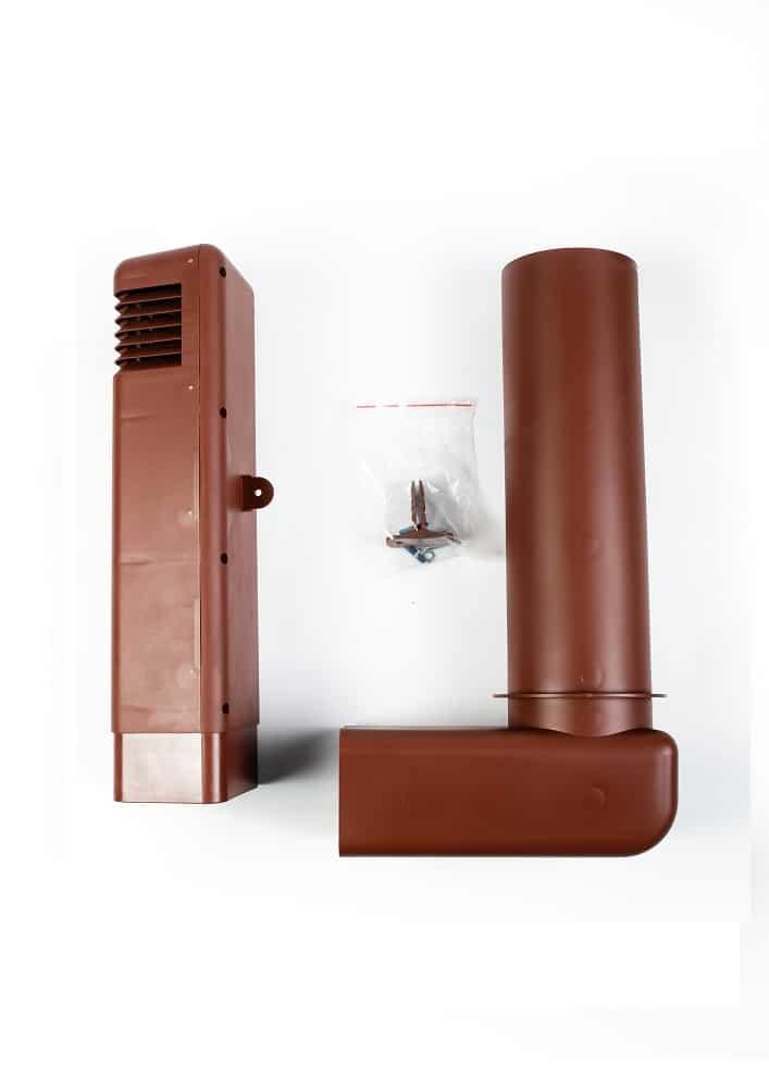 Цокольный дефлектор вертикальный