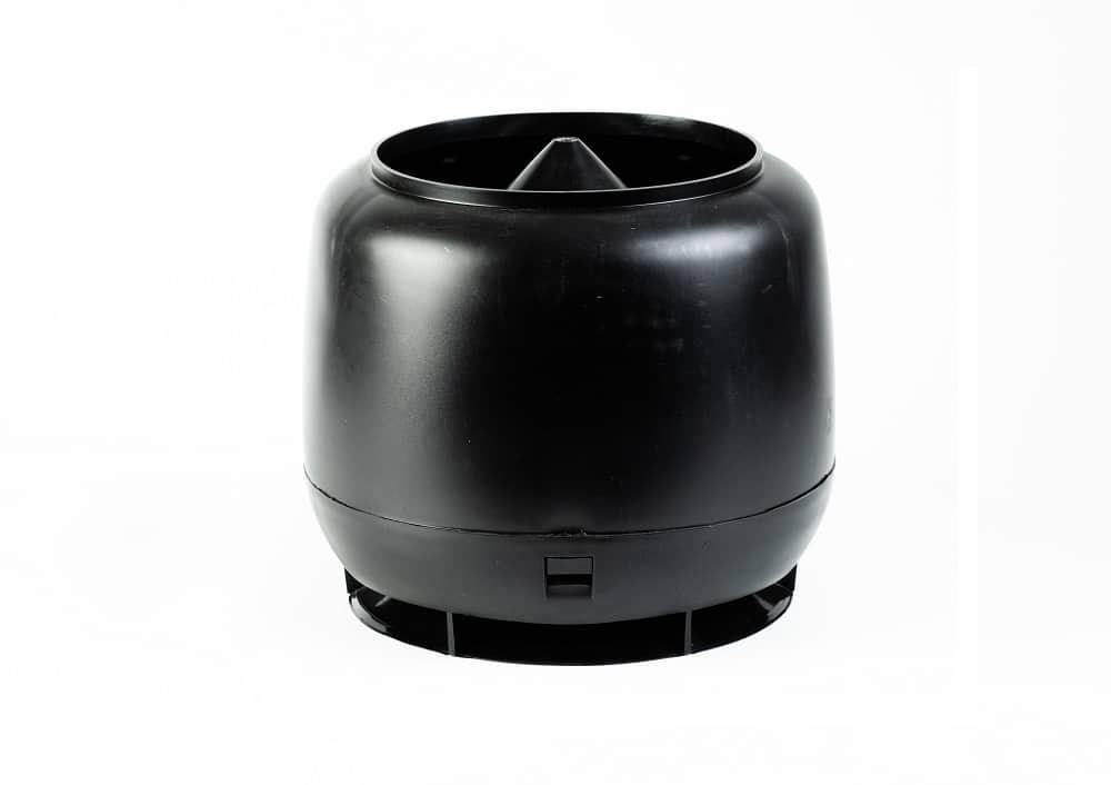 Polivent колпак вентильный D-110 D-160 черный