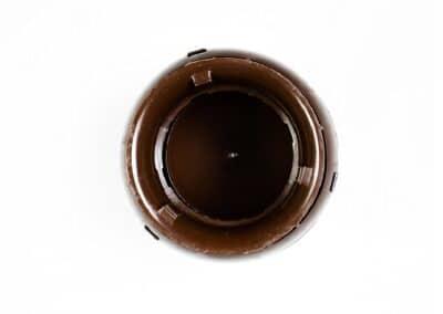 Polivent колпак вентильный D-110 D-160 коричневый