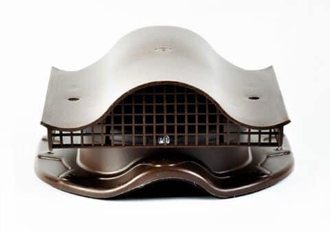 КТВ-вентиль SKAT для металлочерепицы с профилем MONTERREY